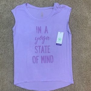 "NEW Gaiam ""In a Yoga State of Mind"" Shirt"
